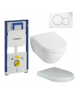Toiletset Villeroy & Boch Subway 2.0 compact compleet