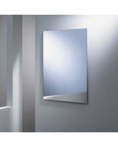 Badkamerspiegel rechthoekig model Standaard uitvoering