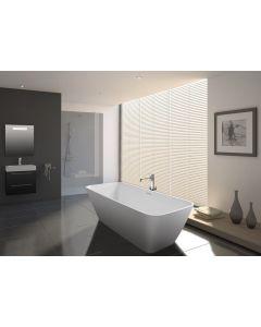 Vrijstaand bad Riho Bilbao Solid Surface