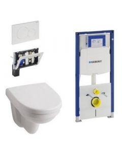 Sphinx 300 complete wand toiletset met geurblokhouder