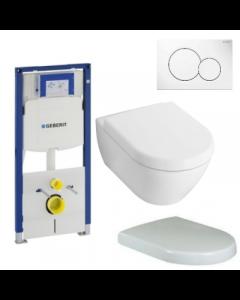 Toiletset Villeroy & Boch Subway 2.0 compact compleet