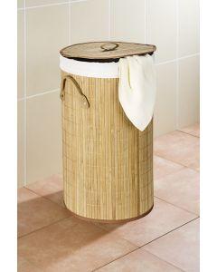 houten wasmand Bamboo rond natuur