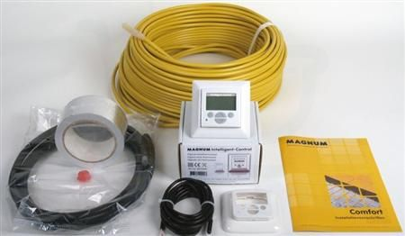 Magnum Comfort Electrische Vloerverwarming Kabel 1 8m2 Bad Winkel Nl